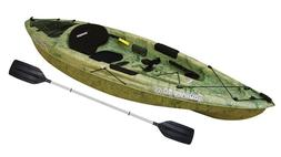 10' Fishing Kayak With Paddle Sit On Canoe Rod Holders Lake