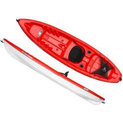 Pelican 10 ft CHALLENGER 100 Angler Fishing Kayak Fireman Re