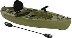 Lifetime 10ft. Tamarack Angler Kayak, Sit On Top Fishing w/