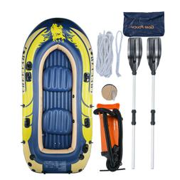 2/3/4 Person PVC Fishing Swimming Water Sports Inflatable Bo