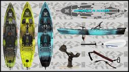2020 Perception Pescador Pilot - Pedal Fishing Kayak | Fishi