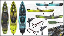 2020 Perception Pescador Pilot - Pedal Fishing Kayak | FREE