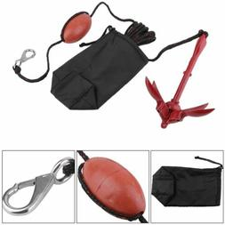 3.5lb Canoe Fishing Kayak Inflatable Boat Folding Grapnel An