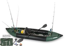 350fx inflatable fishing explorer kayak