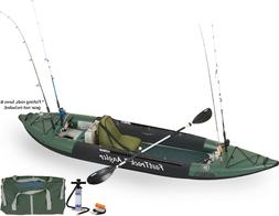 SEA EAGLE 385FTA FAST TRACK INFLATABLE FISHING KAYAK DELUXE