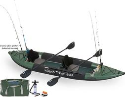 385fta fast track inflatable fishing kayak pro