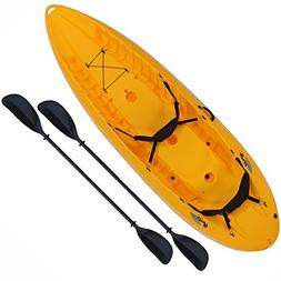 Lifetime 90118 Manta Tandem Sit on Top Kayak with Paddles an