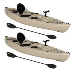 Lifetime 90806 Tamarack Angler 100 Fishing Kayak - 2 Pack