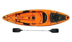 Sun Dolphin Bali 10' Sit-On Kayak Red, Paddle Included Multi