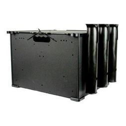 Yakattack 12x16x11 BlackPak Kayak Fishing Crate, Black