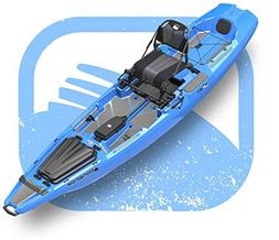 Bonafide SS127 Ultimate Sit on Top Fishing Kayak With Built