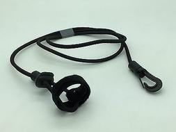 """Bungee Cord Boat Paddle Fishing Pole Leash Rope 40"""" Snap Hoo"""