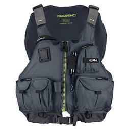 NRS Chinook Fishing PFD Charcoal Black S/M