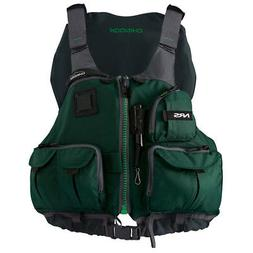 NRS Chinook Fishing PFD Green L XL