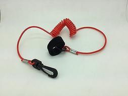 coiled lanyard boat paddle fishing