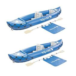 Sevylor Fiji 2-Person Inflatable 22 Gauge PVC Travel Pack Ca