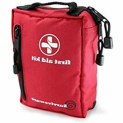Small First Aid Kit for Hiking Backpacking Camping Travel Ca