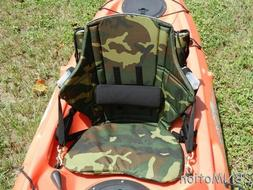 FISH COMFY HIGH BACK ELITE KAYAK SEAT - CAMO
