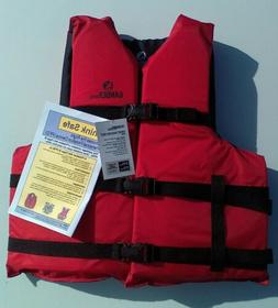 GANDER MOUNTAIN Fishing Canoe Kayak Boating LIFE JACKET VEST