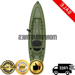 Fishing Kayak w Paddle Adult Sit On Top Padded Seat Storage