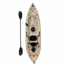 Fishing Kayak Water Sports Outdoor Paddle Included Tan High
