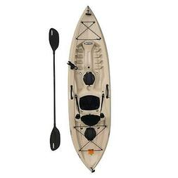 Fishing Kayak with Paddle 10 Ft Lifetime Tamarack Angler 100