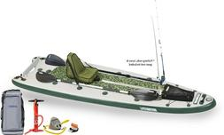 Sea Eagle FishSUP 126 Inflatable FishSUP - Deluxe Package