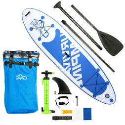 "Freein Stand Up Paddle Board Inflatable SUP 10'10"" Long Whit"