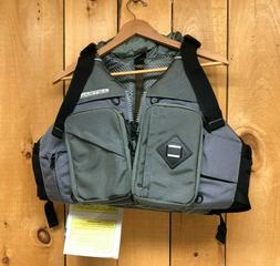 Gray Ronny Fisher Astral Designs Life Vest PFD w/Thin Vent,