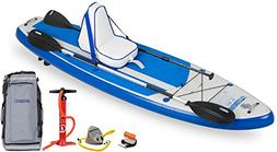 """Sea Eagle HB96 Hybrid 9'6"""" Inflatable SUP Deluxe Package"""