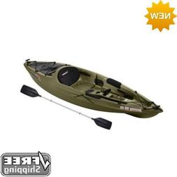 Sun Dolphin Journey 10' Sit-On Fishing Kayak Olive With Padd