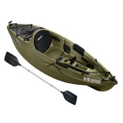 Sun Dolphin Journey 10 SS Sit-On Angler Kayak, Paddle Includ