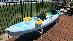 Kayak 2 Seater 14 ft Perception never used
