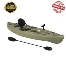 KAYAK Angler Fishing w/ Paddle Water Lake Ocean Green by Lif