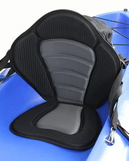 Kayak Backrest Pad Luxury Adjustable Padded Seat+detachable