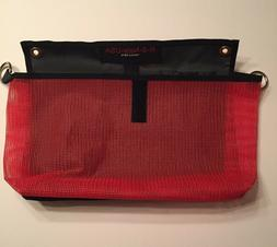 "KAYAK BAG:SIDE RAIL TACKLE TOOL BOX BAG 13"" x 8"" RS NETS USA"