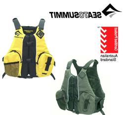 Sea to Summit Kayak Fishing PFD, Life Jacket Canoe Angler Ve