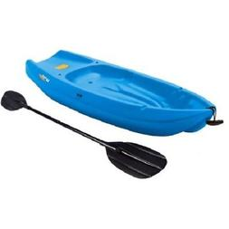 Kayak With Paddle Blue 6' For Fishing Outdoor Boat 1 Man Wav