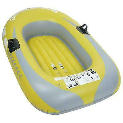 1-2 Person Inflatable Boat Canoe Fishing Rafting Water Sport