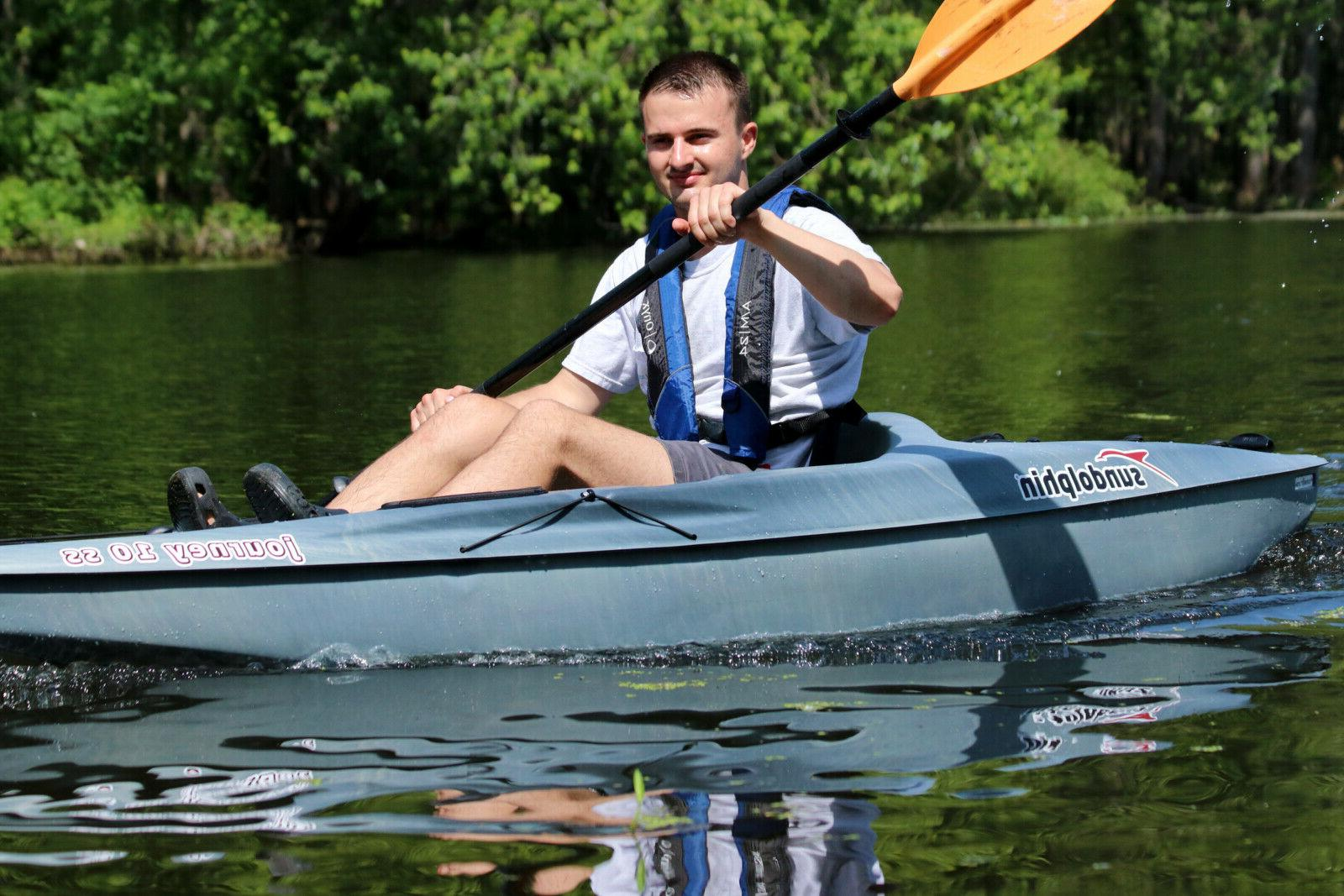 10' Lightweight Water Sit-On Raft with Included
