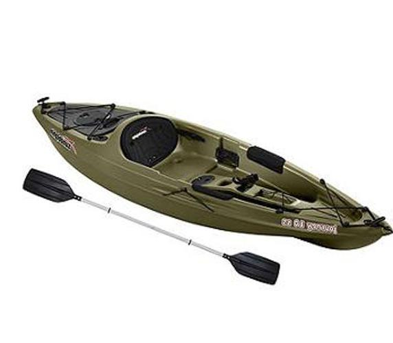 10 ft kayak one person fishing boat