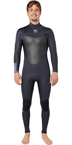 Billabong 2017 Absolute Comp 3/2mm Chest Zip Wetsuit Asphalt