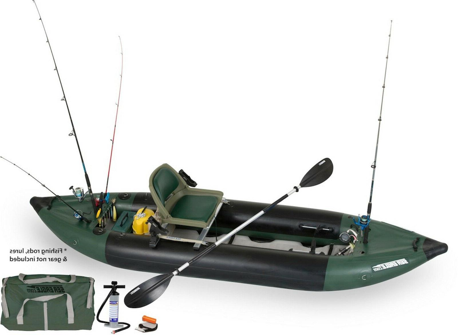 350fx swivel seat fishing rig inflatable fishing