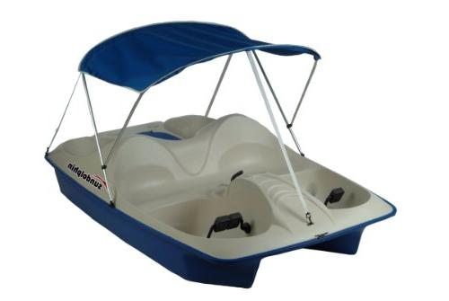 5 seated pedal boat
