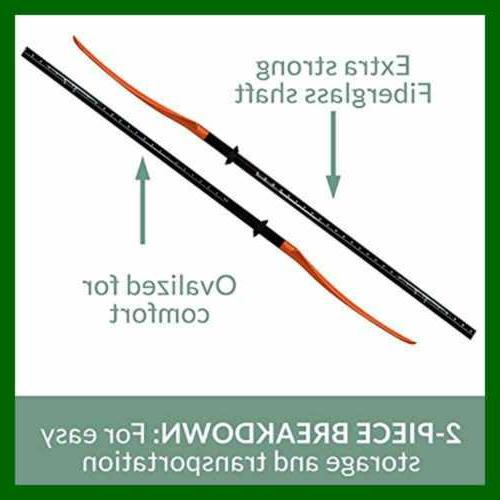 Bending Branches Angler 2 PC Snap Button Fishing Paddle Shaf