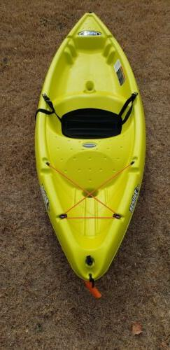 apex 80xe sit on top kayak yellow