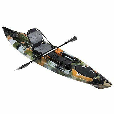 Auklet Foot Single Person Sit On Top Fishing with Rudder