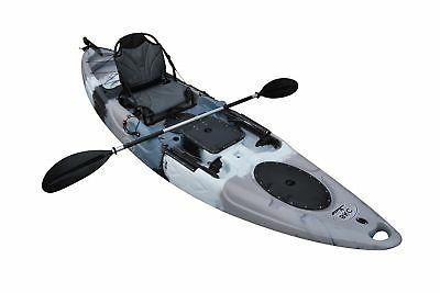 BKC 11-Foot Angler On Fishing Kayak with Paddles, 1-