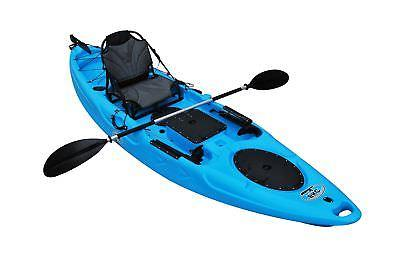 BKC UH-RA220 6-inch Angler Top Fishing Kayak 2- Paddles,