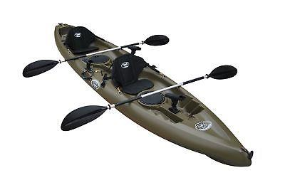 BKC UH-TK181 12-foot Sit On Top 2 Person Kayak with